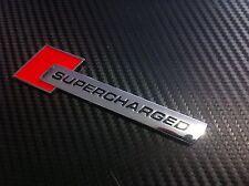 Supercharged badge / emblem sticker Audi,Holden,HSV,BMW