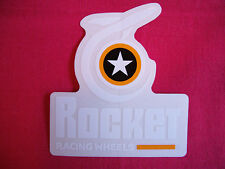 Rocket Racing Wheels Sticker Decal Hot Rods Classic Cars