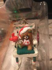 Enesco Christmas Ornament: Peek A Bear My Special Friend! Bear At Play New