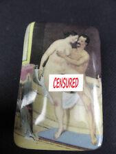 BOITE PORCELAINE STYLE ART DECO EROTIQUE LIBERTINE PETER FENDI 914-12B PILL BOX