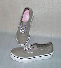 ac1ba295610b93 Vans Authentic K S Kinder Schuhe Freizeit Sneaker Gr 31 UK13 Eyelet Grau  Weiß