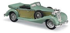 Busch 41335 , HORCH 853 Convertible abierta, verde, H0 modelo 1:87