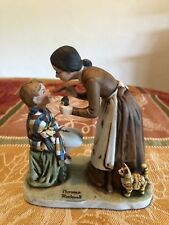 "Norman Rockwell Ts-3 Take Your Medicine 1977 Grossman 5.5"" Figurine Tom Sawyer"