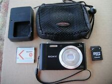 Sony Cyber-shot DSC-W800 20.1 MP Digital Camera - Black