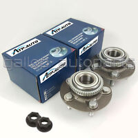 2 Front Hub Wheel Bearing Hubs and Nut for Ford Fairlane Falcon AU BA BF LTD FPV
