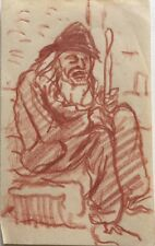 René Seyssaud (1867-1952) Portrait -P12V-