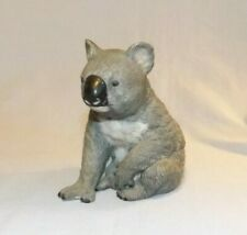 Ceramic Porcelain Koala bear figurine Royal Heritage like lenox grey figure