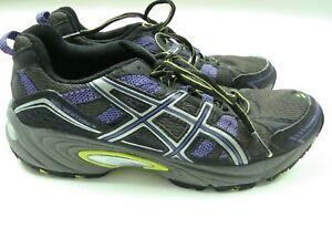 Asics Gel-venture 4 Womens Shoes T383N Running Training Purple Black Size 7 US
