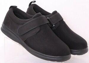 NEW Dr. Comfort 0910 Marla Black Adjustable Strap Oxford Shoes Women's US 11W