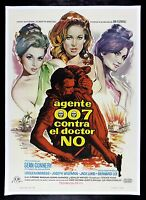 DR. NO * CineMasterpieces JAMES BOND MOVIE POSTER DR DOCTOR NO 1962 SPAIN RARE