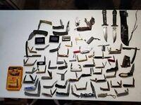 Pocket Knife lot of 67~ Case Old Timer Zippo Barlow Ulster Utica& Presidential