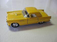 KINSMART 1:36 SCALE 1955 FORD T-BIRD DIECAST CAR MODEL PULLBACK W/O BOX NEW!