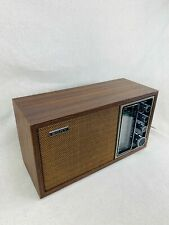 Vintage Mid Century SONY TFM-9440W 2 Band AM FM Table Shelf Radio - SEE VIDEO
