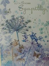 Sympathy cards  condolences lovely verse please read 16 cards total