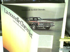 BEAU CATALOGUE CHEVROLET 1977 : CAPRICE/ IMPALA/ BEL AIR (FRENCH)