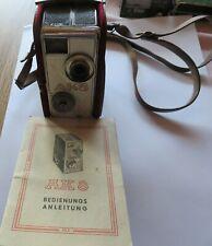 Alte DDR AK 8 Kamera Schmalfilmkamera mit Tasche und Bedienungsanleitung