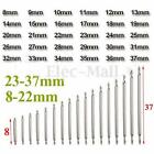 30-60Pcs Stainless Steel Watch Band Strap Link Pin Spring Bar Repair Tool 8-37mm