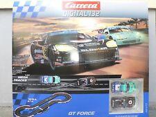 Carrera Digital 132 30177 GT Force Grundpackung Set Startpackung Neu