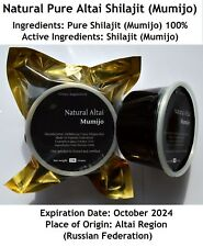 SALE!! Altai Shilajit 1.65Lb(750 gms) in Jar, Pure Authentic Mumijo,Mumie, Mumio