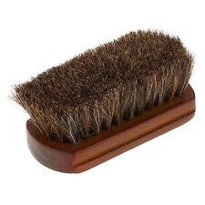 Wood Handle Natural Horse Hair Mustache Beard Brush Facial Beard Cleaning Men
