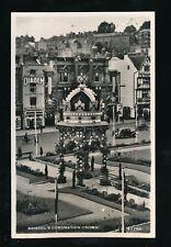 Gloucestershire Glos BRISTOL Coronation Crown 1953 RP PPC Harvey Barton