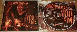 JOE BONAMASSA - YOU & ME  CD