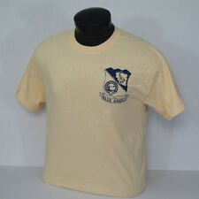 US NAVY BLUE ANGELS 1946 Team Crest and F-6F Hellcat Vintage T-shirt