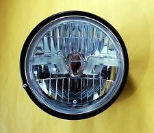 Klarglas LED Scheinwerfer schwarz Honda CB 750 seven fifty black LED headlight