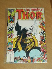 THOR THE MIGHTY #373 VOL 1 MARVEL MUTANT MASSACRE SIMONSON NOVEMBER 1986