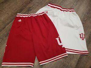 VINTAGE Adidas Indiana University Hoosiers Basketball Team Shorts Men Medium LOT