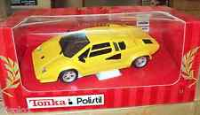 Tonka/Polistil- Lamborghini Countach Gialla  scala 1/18
