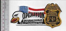 Federal Bureau Investigation FBI Afghanistan Operation Enduring Freedom Service