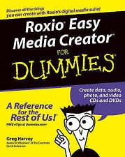 Roxio Easy Media Creator For Dummies, Bennett, Stephen, Very Good Book