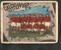 Figurina Calciatori VAV 1950! Squadra Triestina!! Ottima! RARA