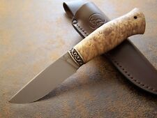 SLON KNIVES Custom Messer Outdoor / Jagdmesser  aus CPM H12MF Stahl HRC-62 NEU