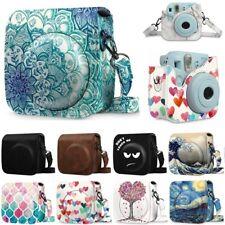 For Fujifilm Instax Mini 8 Mini 8+ Mini 9 Instant Camera Case Bag Cover w/Strap