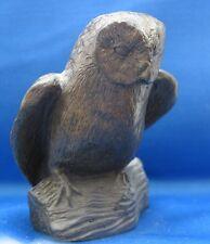 TUDOR BRONZE RESIN OWL