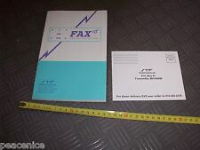 Vintage Apple Macintosh Computer - DOCUMENTS: FAX STF Technologies (hardly used)