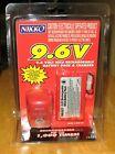 NIKKO 1299 RC 9.6V NiCd Battery & Charger Set NEW SEALED