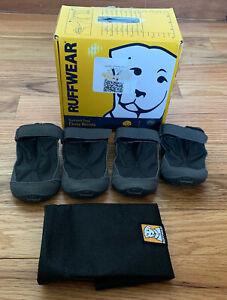 Ruffwear Summit Trex dog boots 2 pair Twighlight Gray  size 2.0 brand New