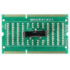 1Pcs DDR3 memory slot tester card with LED for laptop motherboard Notebook L