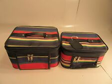 Vintage Yuhang Women Cosmetic Case Two Piece Set