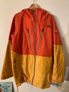 North Face Free Thinker Steep Gore Tex Pro Ski Snow Hard Shell Jacket - Men's XL