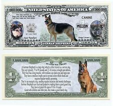 German Shepherd & characteristics  MILLION   DOLLAR  BILL