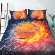 3d Basketball Doona Quilt Duvet Cover Set Queen Single King Size Bed Pillowcases Double