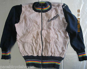 Wool Giordana Campagnolo L.S. Winter Cycling Jacket Italian Blue/Gray XS/Small/1