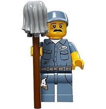LEGO Series 15 Minifigure Janitor 71011 Brand New