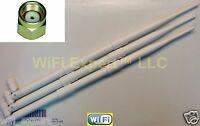 White 3 9dBi RPSMA Dual Band Antennas Asus Router RT-AC66U RT-N66U RT-N16 AC1750