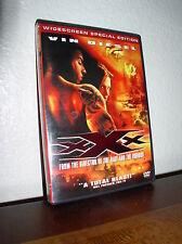 Xxx starring Asia Argento, Samuel L. Jackson, Vin Diesel (Dvd, 2003,Widescreen)