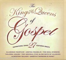 Kings Queens of Gospel 2CD Classic Christian YOLANDA ADAMS ARETHA FRANKLIN New